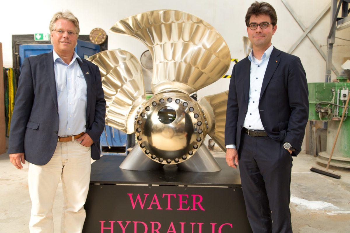 Blomesche Wildnis 14. September 2016: Besuch bei der Otto Piening GmbH, die Schiffspropeller und Wellenanlagen herstellen.