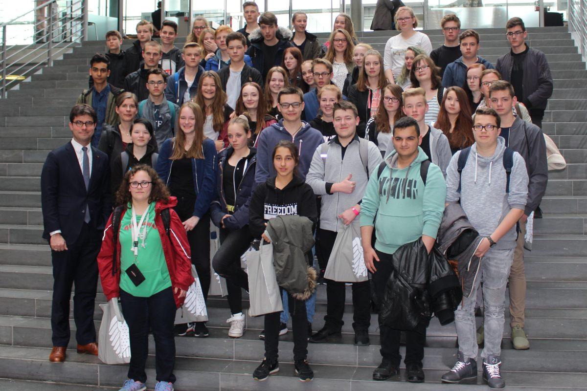 Gemeinschaftsschule Lehmwold, 26. April 2017