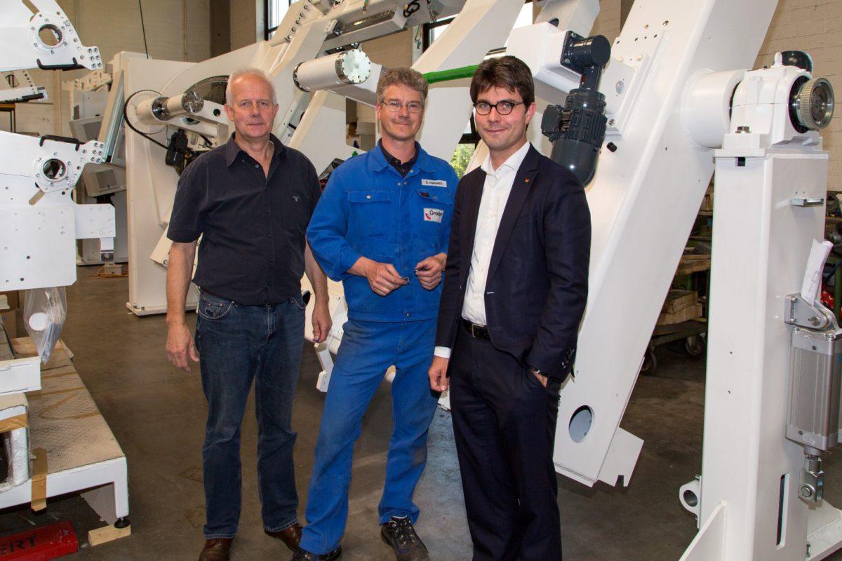 Besuch bei der Fritz Gradert Maschinenbau GmbH & Co. KG in Schenefeld