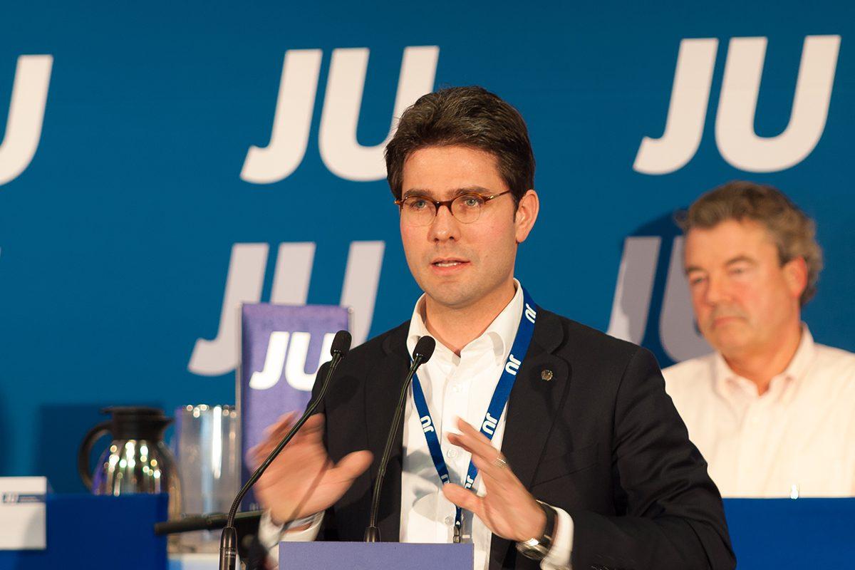 Mark Helfrich bei der Jungen Union
