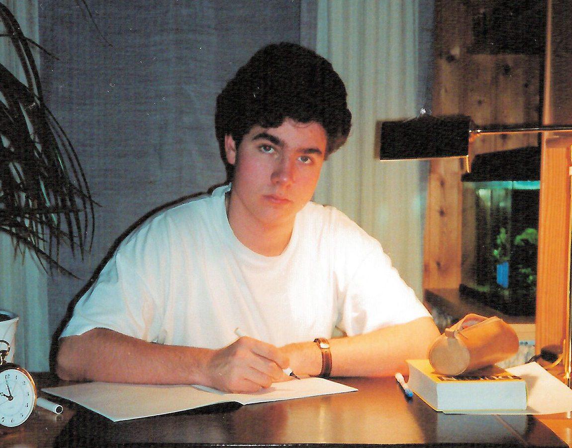 Mark Helfrich beim Lernen