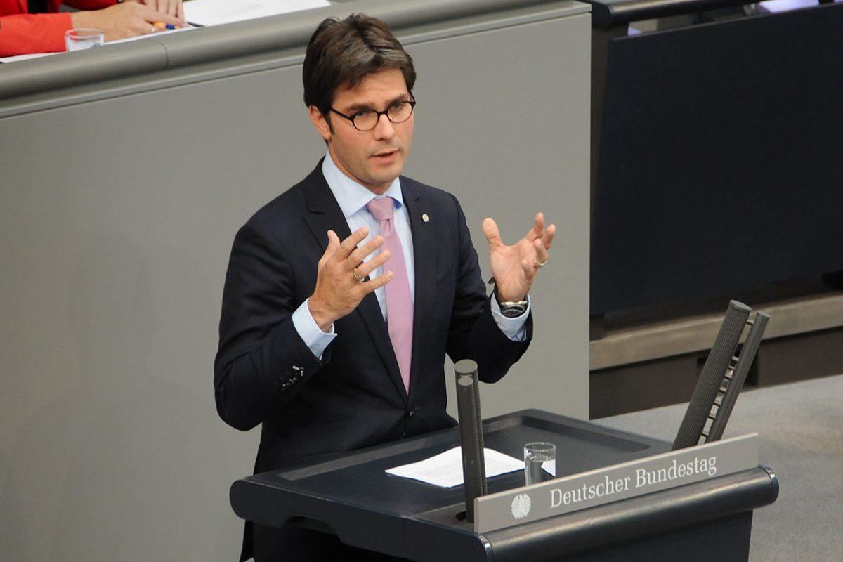 Mark Helfrich im Bundestag