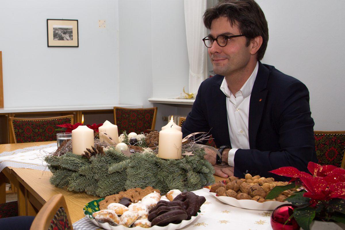 Vorweihnachtliche Bürgersprechstunde 2016 Bad Bramstedt