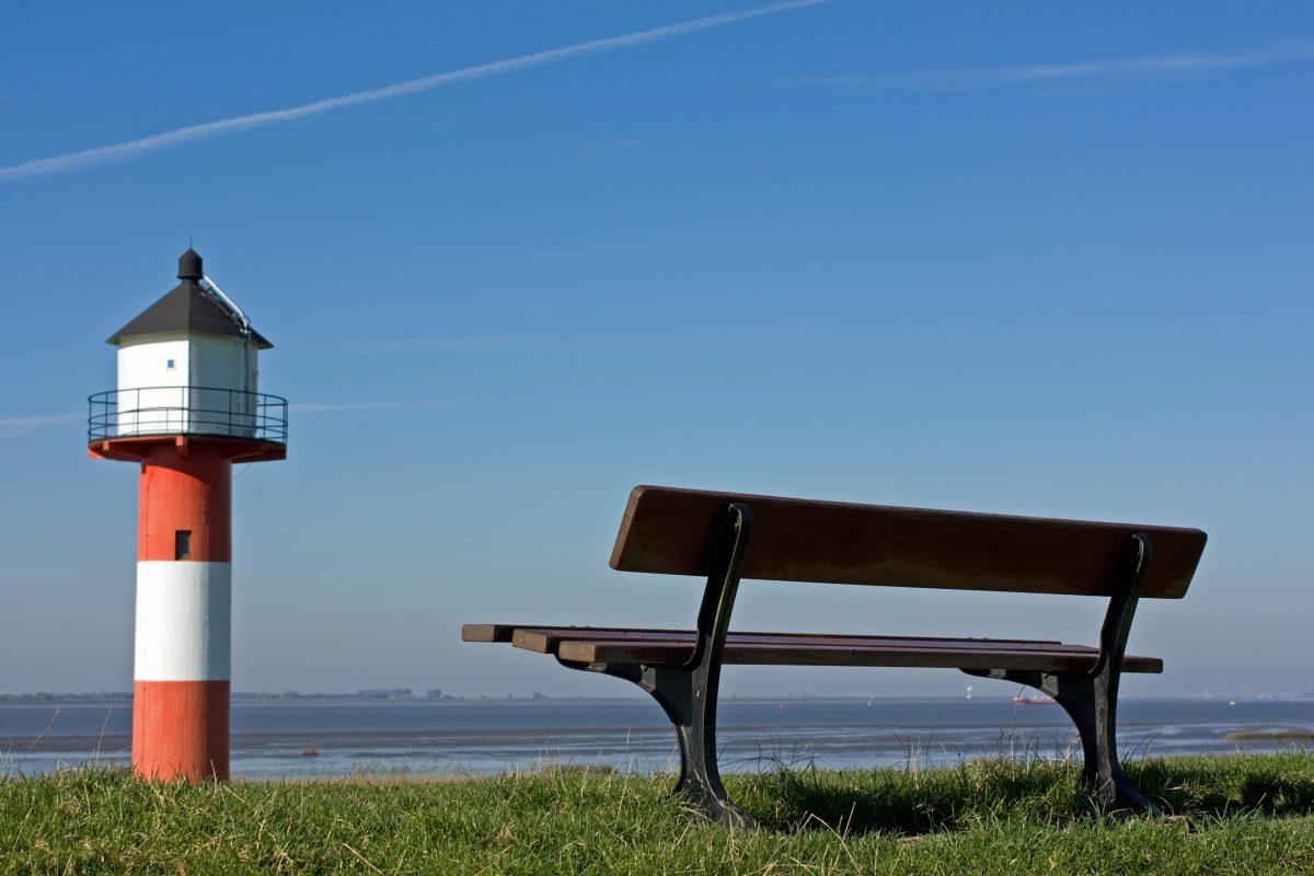 Platz am Meer - Leuchtturm bei Glückstadt