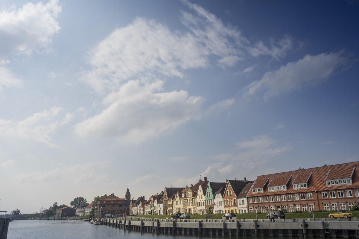 Hafen in Glückstadt