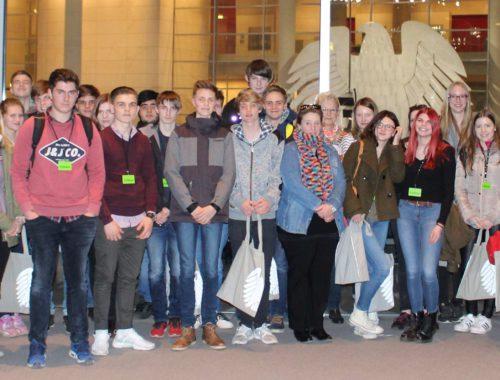 Besuch der Gemeinschaftsschule Auenland, 22. März 2017