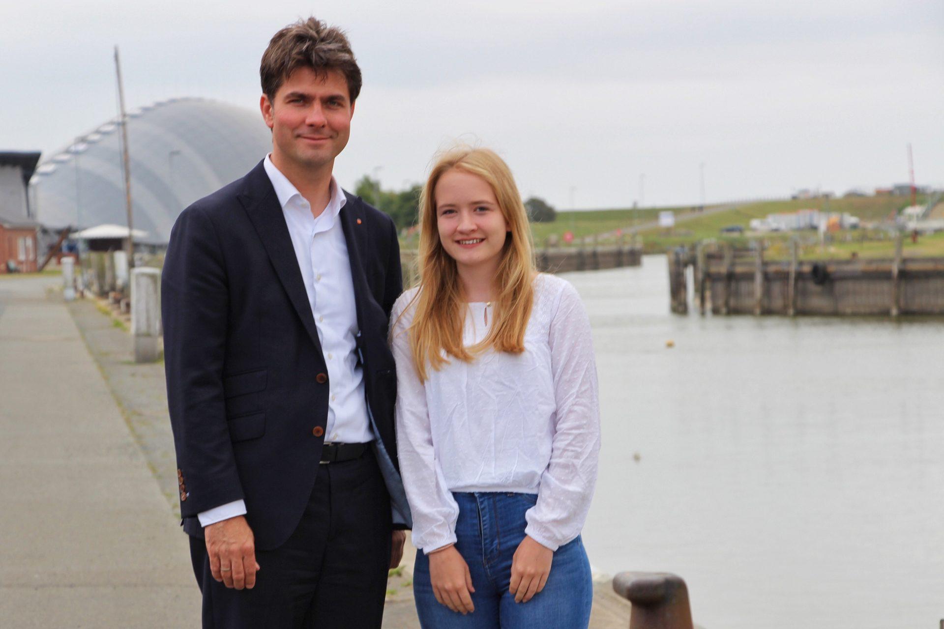 Anne Borwieck und Mark Helfrich