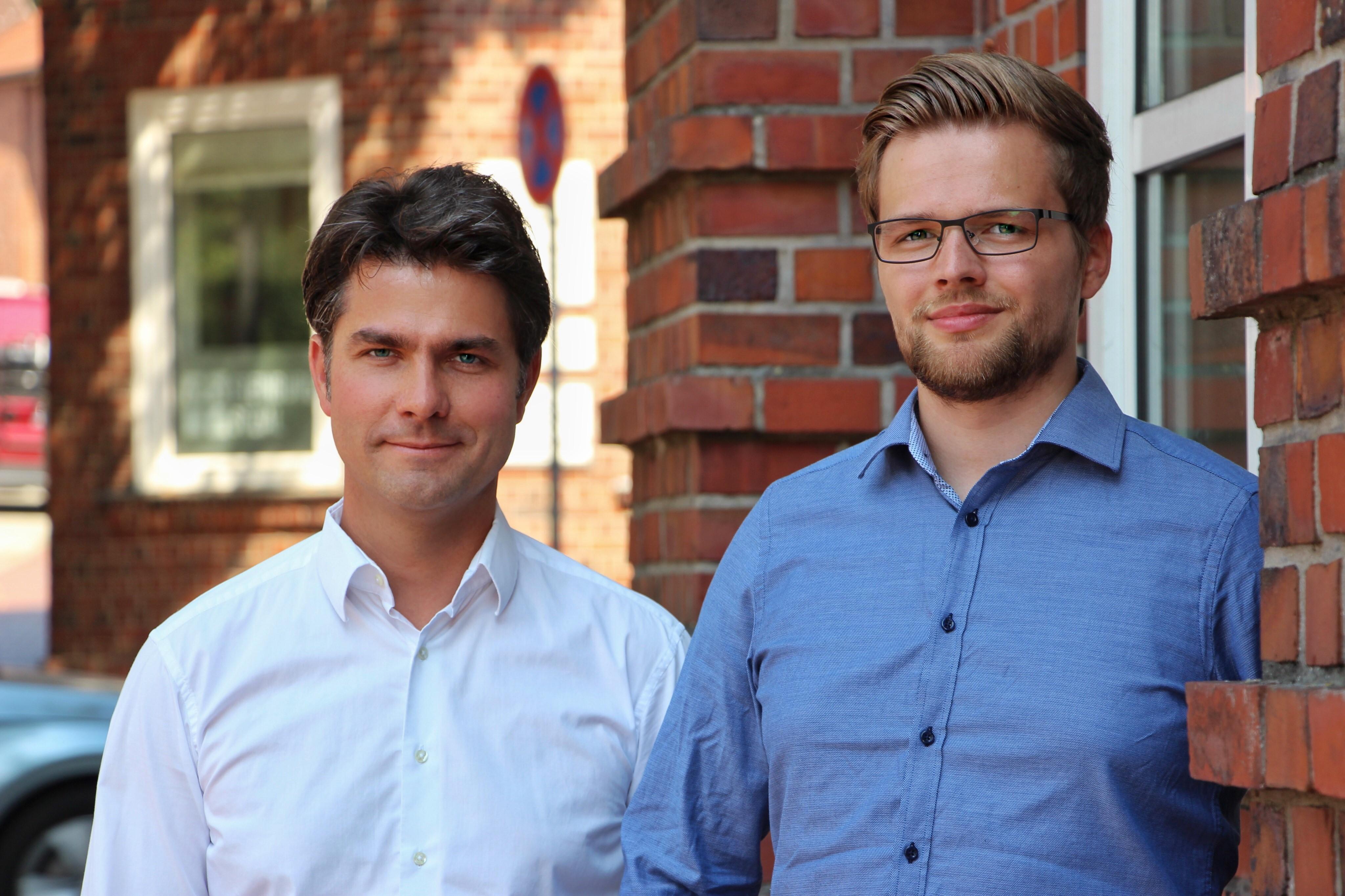 Torge Gelard und Mark Helfrich
