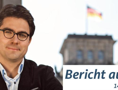 Bericht aus Berlin vom 14. September 2018