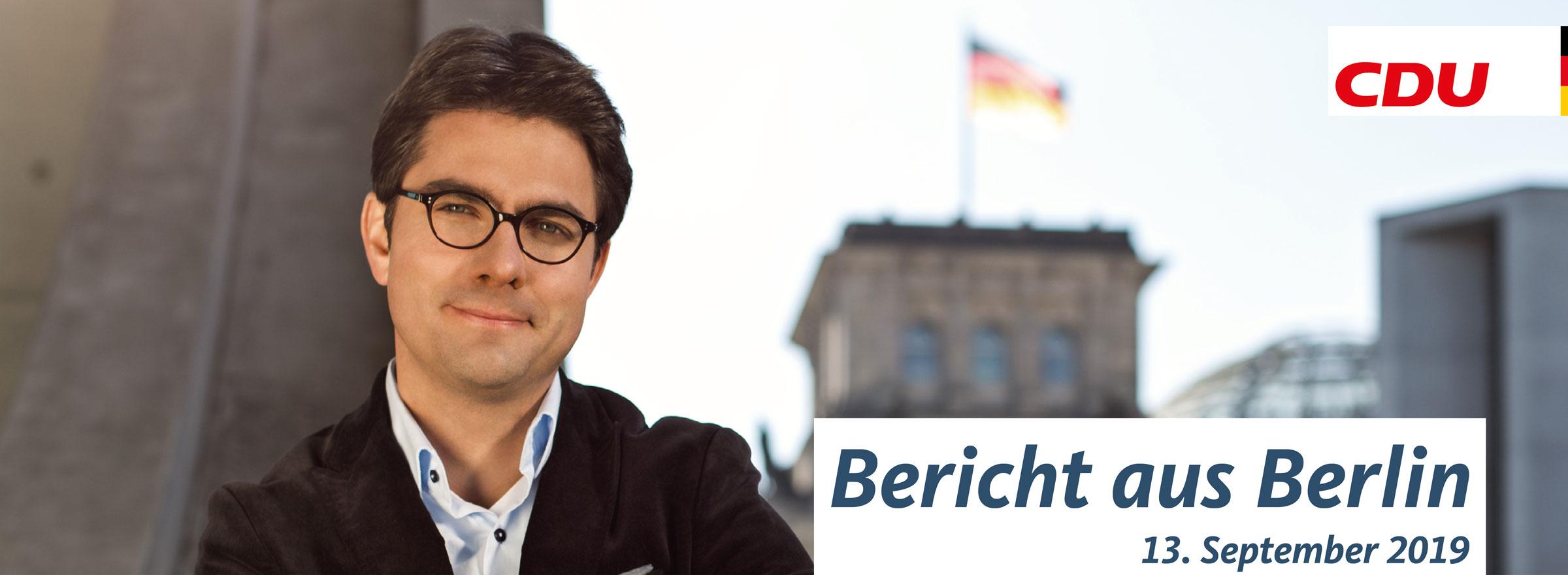 2019-09-13 Bericht aus Berlin - Beitragsbild