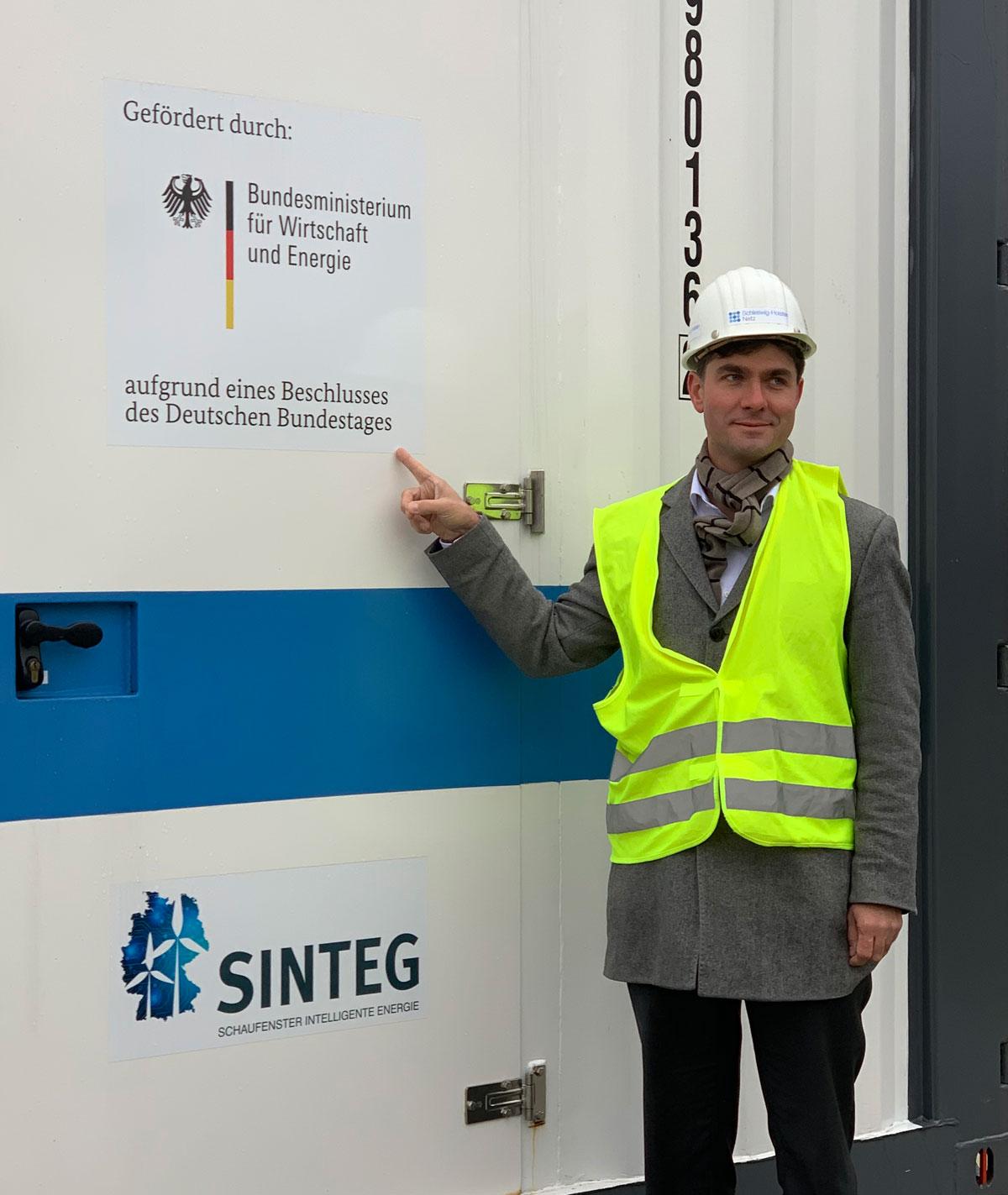 Bund fördert Power2Gas-Anlage